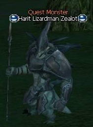 Harit Lizardman Zealot NPC location